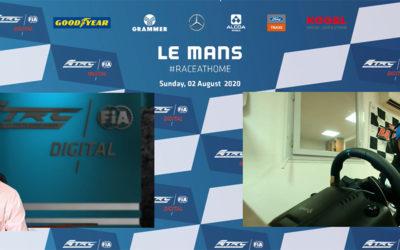 Victoire au Mans de Téo Calvet